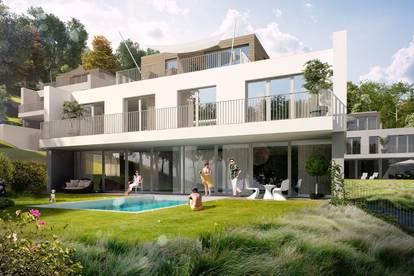 Erstbezug-Villa in der Hinterbrühl mit Pool - Grünruhelage