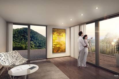 Grünruhelage - Architekten - Villa in der Hinterbrühl mit Pool