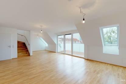Generalsanierter Altbau und Dachgeschossausbau zwischen Prater und Donau