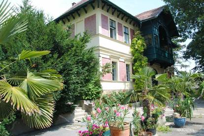 Entzückende Gartenwohnung in einer Prachtvilla   Zentrum Klosterneuburg
