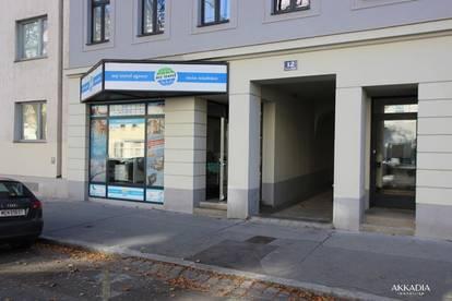 Befristet vermietetes Geschäfslokal Nähe Taborstraße!