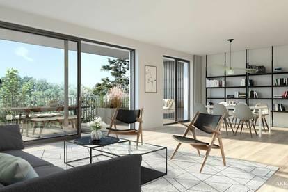 BEL AIR Premium Garden Suites - Smarte 2-Zimmer Wohnung mit großer Loggia