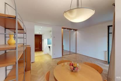 Entzückende 1-Zimmer-Wohnung mit Balkon im Herzen Grinzings