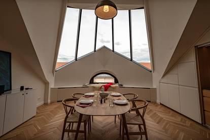 KLAGENFURT ZENTRUM - 2-Zimmer DG-Wohnung im hochwertig sanierten Altbau