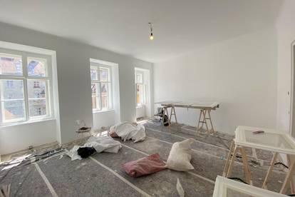 UNBEFRISTET UND ERSTBEZUG: Großartig renovierte 2 Zimmerwohnung im 3. Liftstock im Herzen Wiens