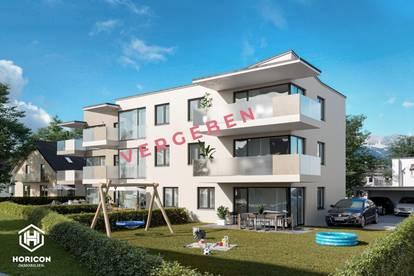 VERGEBEN - Weer - DS35 - Top W 03 - 3-Zi-Gartenwohnung