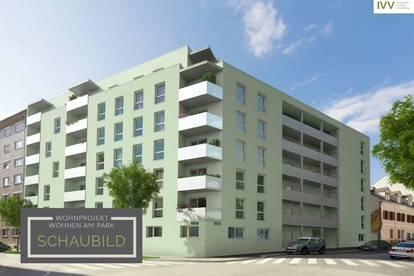 WOHNEN am PARK: Neuwertige Single-Wohnung - Idlhofgasse 48 - Top 10