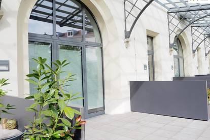 ** Wohnen im Palais Zollamt ** Loft mit großer Terrasse in der Zollamtstraße 7 - Top 22 zu vermieten