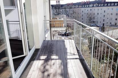 Schicke 3-Zimmer Wohnung mit hofseitigem Balkon / Makartstr. 6
