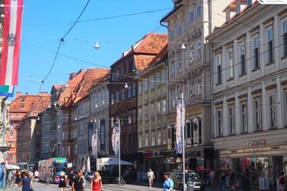 Geschäftslokal in Grazer Bestlage: Herrengasse 3 / Fußgängerzone
