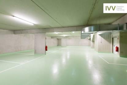 SOMMERAKTION! Tiefgaragenplatz in einer neuen, hellen Garage - Köstenbaumgasse 01