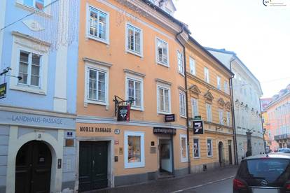 CITY-Wohnung mit Balkon: 2 Zimmer in Zentrumslage - Klagenfurt, Herrengasse 5, Top 2