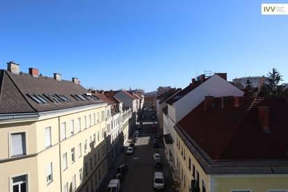 Über den Dächern von Graz: Moderne, neuwertige 3 Zimmer Wohnung mit Balkon - Idlhofgasse 48 - Top 52