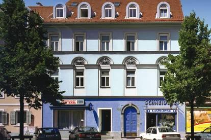 KONTAKTLOSE oder ONLINE BESICHTIGUNG MÖGLICH! / Zentrale 2 Zimmer Wohnung mit geräumiger Essküche und Balkon - Griesplatz 23 Top 5