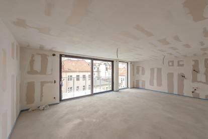 ++NEU++ ProjektGOLDSCHMIEDE, Fantastischer 3-Zimmer DG-ERSTBEZUG mit ca. 17m² Terrasse!