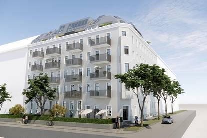 ++Projekt TG 17++ Hochwertiger 3-Zimmer ALTBAU-ERSTBEZUG mit 7m² Balkon, umfassend saniertes Projekt!