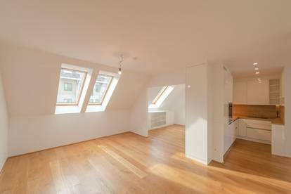 ++VIDEOBESICHTIGUNG++ Großartiger 4-Zimmer DG-Wohnung mit 2 Terrassen und Einbaumöbeln!