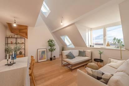 ++DONAUBLICK++ 3-Zimmer DG-ERSTBEZUG mit Blick aufs Wasser und hofseitiger Dachterrasse!