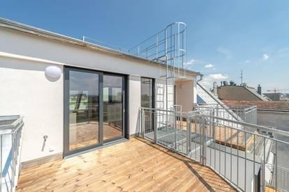 ++VIDEOBESICHTIGUNG++ Großartiger 2-Zimmer DG-ERSTBEZUG mit toller Terrasse! umfassend sanierter ALTBAU!