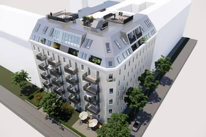 ++Projekt TG 17++ Hochwertiger 2-Zimmer ALTBAU-ERSTBEZUG mit 6m² Balkon, umfassend sanierter Altbau!