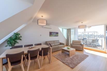 ++fully furnished++ Exklusive, möblierte DG-Wohnung, tolle Ausstattung, bezugsfertig! nahe AUGARTEN