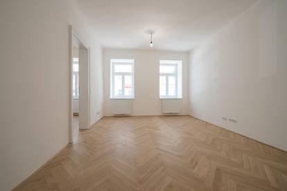 Tolle Altbauwohnung im Hochparterre, 2-Zimmer+getrennte Küche! Guter Grundriss!