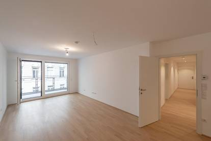 Six in the City: Premium 3-Zimmer Neubau-ERSTBEZUG mit Loggia, BESTLAGE!