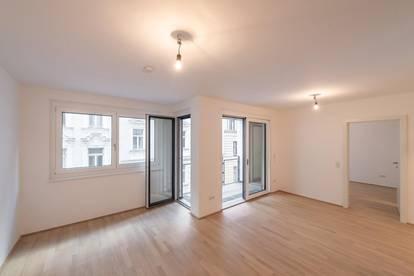 Six in the City: Hochwertiges Neubau-Apartment, BESTLAGE, 2-Zimmer ZWEITBEZUG mit Loggia! ***RUHELAGE***