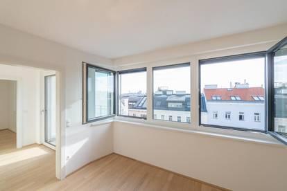Six in the City: Premium 2-Zimmer Apartment mit Balkon, BESTLAGE, direkt beim Haus des Meeres!