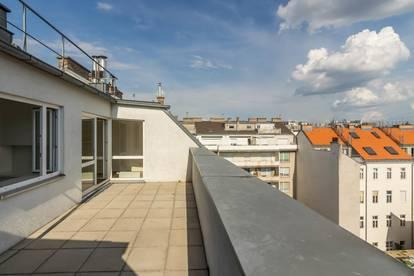 ++VIDEOBESICHTIGUNG++ Hochwertiger 4-Zimmer DG-Erstbezug mit 30m² Dachterrasse, gute LAGE in 1080!
