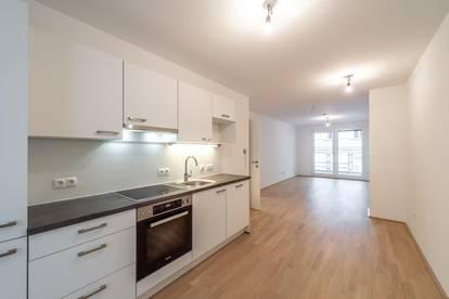 Six in the City: Hochwertige 2-Zimmer Neubau-Wohnung mit Loggia, BESTLAGE!