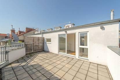 ++NEU** Tolle 3-Zimmer DG-Maisonette mit getrennter Küche und ca. 23m² Dachterrasse!