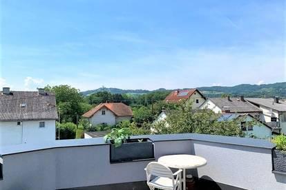 LINZ/URFAHR (Nähe Linzer Straße): DACHTERRASSEN - EIGENTUMSWOHNUNG Wohnfläche von ca. 89,48 m2 + ca. 19,72 m2 Dachterrasse