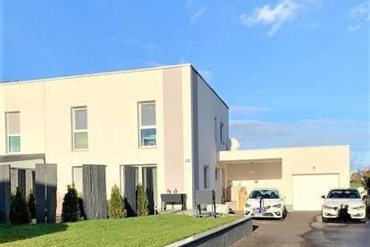 Ansfelden(Weißenberg): LAND.LEBEN - STADT.NAH WOHNEN - DOPPELHAUSHÄLFTE Wohnfläche von ca. 120,7 m2 + Garage