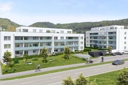 Steyregg: Sichern SIE sich IHRE EIGENTUMSWOHNUNG im WOHNPARK STEYREGG mit ca.77m² Wohnfläche+LOGGIA - MEHR.WERT - MIT SICHERHEIT.FÜR GENERATIONEN