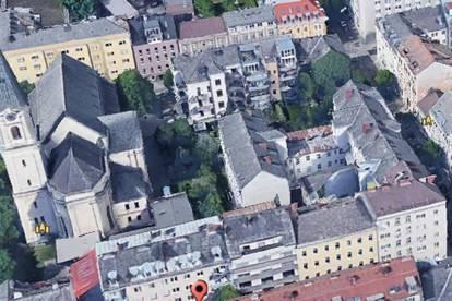 Linz/Stadt (Schillerstraße): GESCHÄFTS- bzw. BÜRO-PRAXIS-FLÄCHE ca. 42,29 m2