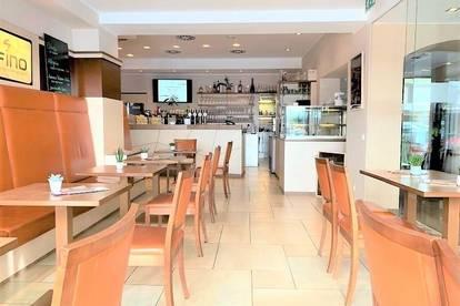 LINZ/STADT: Top ausgestatteter Gastronomiebetrieb mit Gastgarten