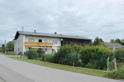 Gepflegtes Bauernhaus mit Garten, Stall, Nebengebäuden und großem Grundstück