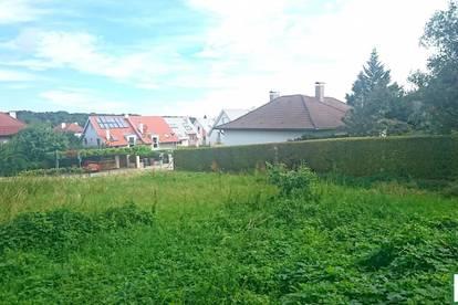 !BESTLAGE von Maria Enzersdorf - ORTSGRENZE GIESHÜBEL! ca. 10 Busminuten zum BAHNHOF MÖDLING! BAUBEWILLIGTES GRUNDSTÜCK! 864m²