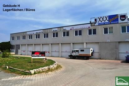 Industriegelände - Lager, Werkstatt, Büro, Geschäft! ab 25€ Netto/Monat! 10m2 - 1500m2! Eisenstadt - ca. 10min! GEWERBEPARK DONNERSKIRCHEN