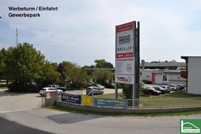 Neusiedler See - Nähe Eisenstadt! Lager-, Werkstatt-, Geschäfts- bzw. Büroflächen zur Vermietung! Gewerbepark Donnerskirchen!!