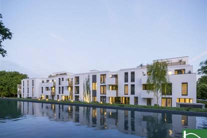 Gefragte Liebhaber Wohnung mit ruhiger Lage in Pottendorf! Gemütliche 2-Zimmer-Neubau-Wohnung mit idyllischer Außenfläche!