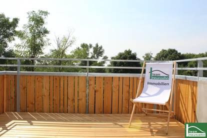 2 Zimmer - mit Balkon - Ohne Provision - Modernes Wohnen am Stammersplatzl - Küche inkludiert - Neubau - Nahe Marchfeldkanal