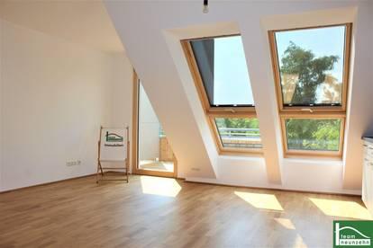 !!Neubau im Grünen 21. Bezirk - Modernes Wohnen am Stammersplatzl - PROVISIONSFREI - 2 Zimmer mit Balkon!!