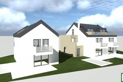 Designerhaus! Exquisite Doppelhaushälfte im Grünen! Terrasse, Balkon, Pool und Garage!