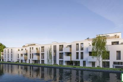 Gefragte Liebhaber Wohnung mit ruhiger Lage! Gemütliche 2-Zimmer-Neubau-Wohnung mit idyllischer Außenfläche!