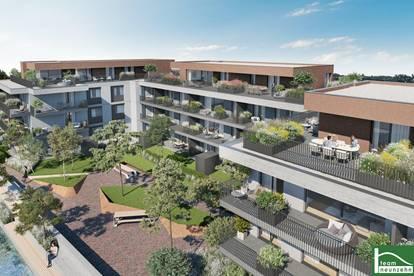 4 Zimmer + zwei Balkone!! TOPPROJEKT in der Achau – Absolute Grünlage! ALLES WAS DAS HERZ BEGEHRT! BEL Air Garden Suites!!