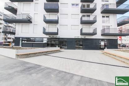 NEU - ERSTBEZUG - NAHE BAHNHOF - GESCHÄFTSLOKAL VON 155 m2 - 322 m2