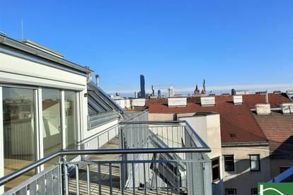 Jetzt Vorsorgen! Helle Dachgeschosswohnungen mit einzigartigen Freiflächen! Zentrumsnähe!