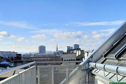 Helle Dachgeschosswohnungen mit einzigartigen Freiflächen! Zentrumsnähe!
